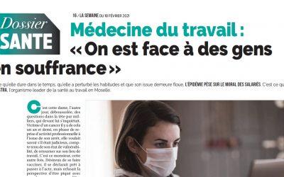 """AGESTRA parle de l'impact de la COVID-19 dans le journal """"La Semaine"""""""
