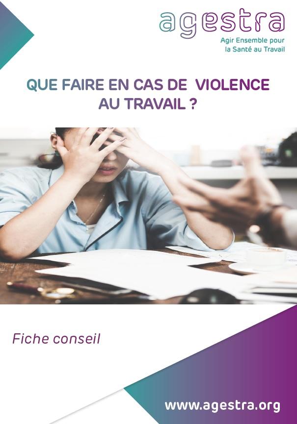 violences travail agestra